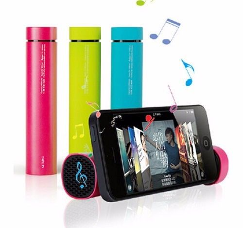 3 IN1 POWER BANK GENUINE 4000MAH/SPEAKER/MOBILE STAND FOR IPHONES & ANDROID