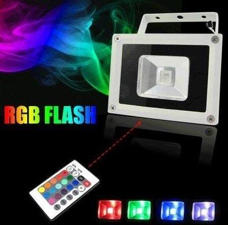 10W ULTRA-THIN SUPER QUALITY RGB WATERPROOF IP66 LED FLOODLIGHT – BRAND NEW