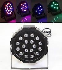 18 LED MINI FLAT PAR STAGE LIGHT – BRAND NEW