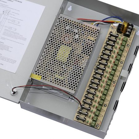 18 CHANNEL 12V 20A POWER SUPPLY BOX
