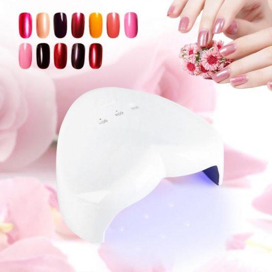 18W LED HEART UV NAIL LAMP