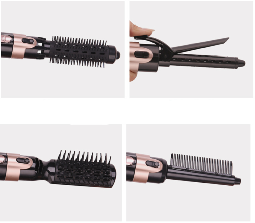 5-IN-1 HAIR CURLER WAND ROLLER CURLING IRON HAIR STYLING TOOL
