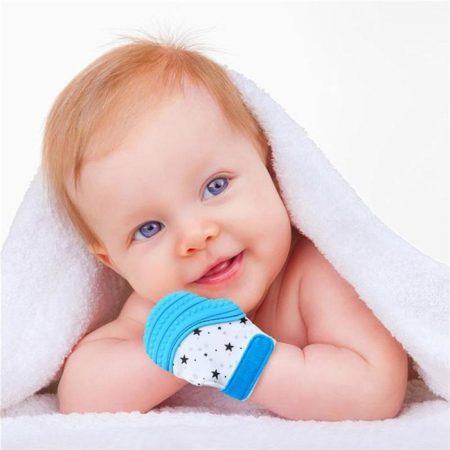 BABY GUM TEETHING GLOVE
