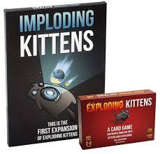 IMPLODING KITTENS – EXPLODING KITTENS EXPANSION PACK