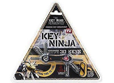 KEY NINJA – ORGANIZE UP TO 30 KEYS, DUAL LED LIGHTS, BUILT IN BOTTLE OPENER