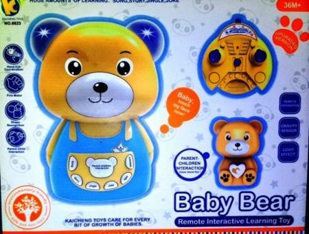 BABY BEAR REMOTE INTERACTIVE LEARNING BEAR