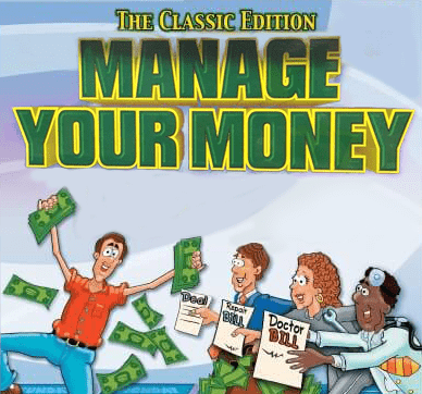 MANAGE YOUR MONEY BOARD GAME