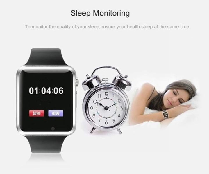 BLUETOOTH SMART WATCH SUPPORT SIM SLOT TF CARD PHONE WITH CAMERA FOR ANDROID IOS