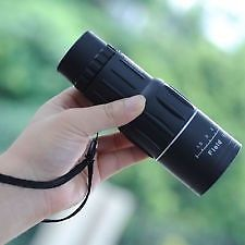 16 X 52 MONOCULAR TELESCOPE DAY VISION WITH BAG POUCH FOR OUTDOOR SPORT CAMPING