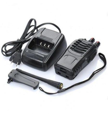 2 X PROFESSIONAL TWO-WAY RADIOS TRANSCEIVER HANDHELD INTERPHONE