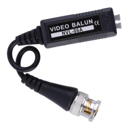1 PAIR HD CCTV VIDEO BALUN TRANSMITTER FOR CVI/TVI/AHD