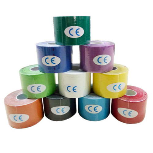 5CM*5M SIZE ONE ROLL ELASTIC KINESIOLOGY SPORTS TAPE MUSCLE PAIN CARE