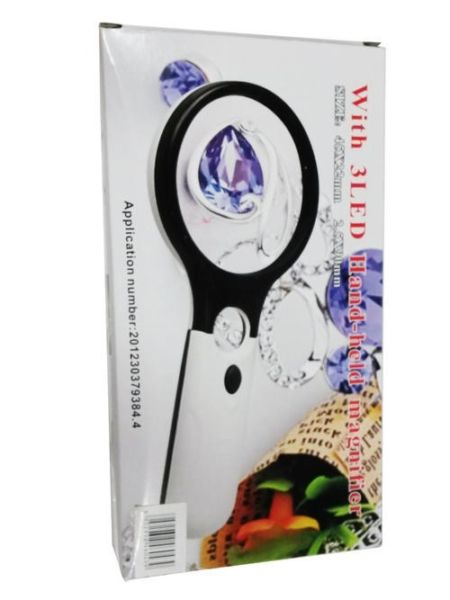 3LED HAND HELD MAGNIFIER