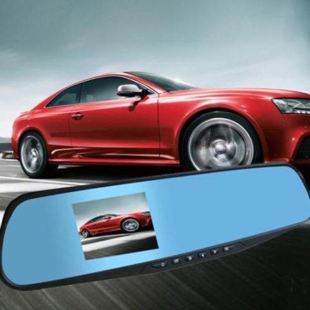 2.8″ 720P CAR KIT DVR REARVIEW MIRRORS CAMERA VIDEO RECORDER DASH CAM