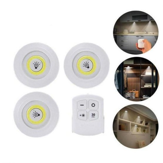 3W LED REMOTE CONTROL LIGHT