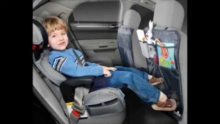 2 IN 1 KICK MAT + CAR SEAT ORGANISER – SET OF 2