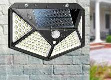 114 LED SOLAR WALL LIGHT