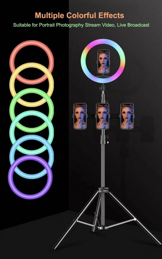 13″ RGB RING FILL LIGHT WITH STAND